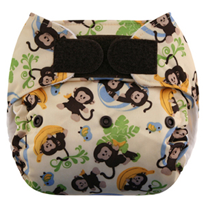 Blueberry One-Size Deluxe Pocket Diaper