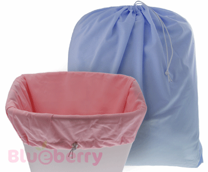 1bd10a49f9b EcoBaby | Blueberry Diaper Pail Liner / Laundry Bag